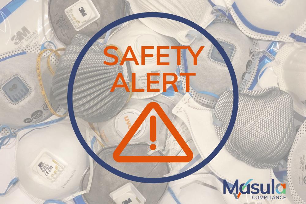 Safety Alert - P2 Face Masks