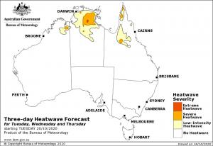 Heatwave Forecasts Bureau of Meteorology BOM